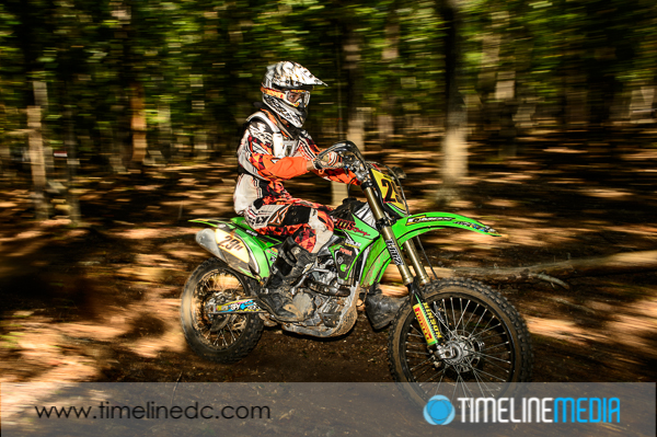 ©TimeLine Media - motorcycle action photo with zoomed flash head