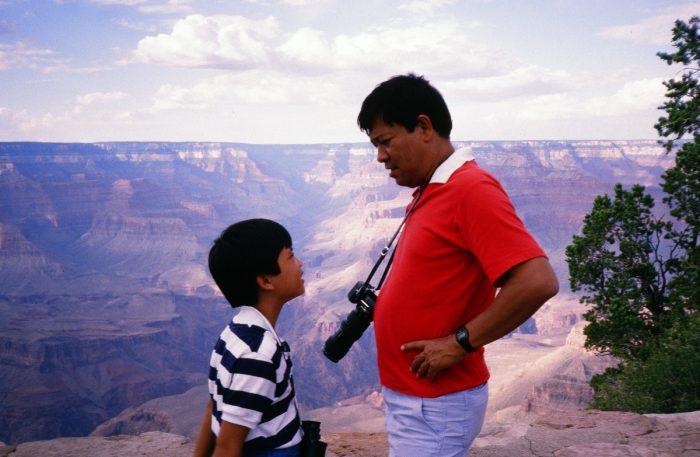 Me and Tatay at the Grand Canyon