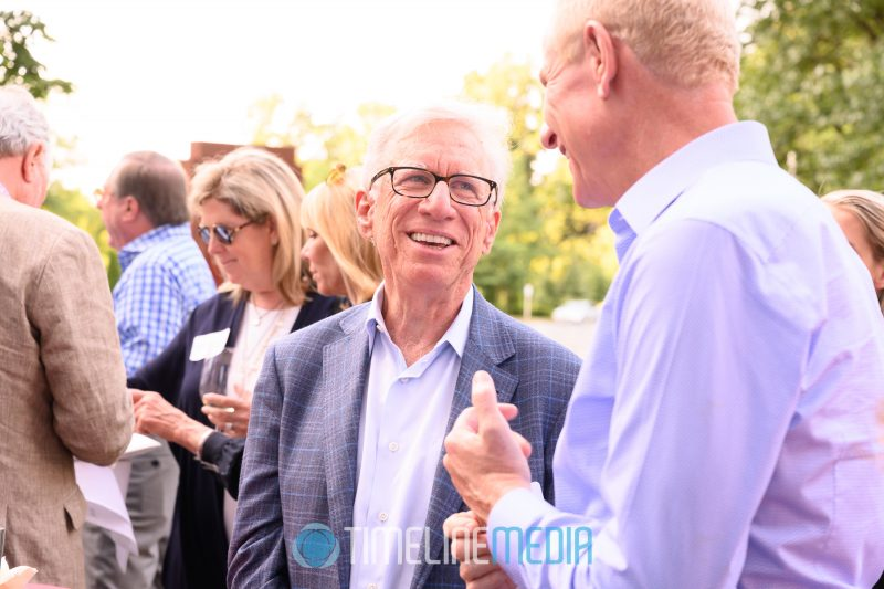 Sol Glasner at the Palm Restaurant for a Tysons Partnership event ©TimeLine Media