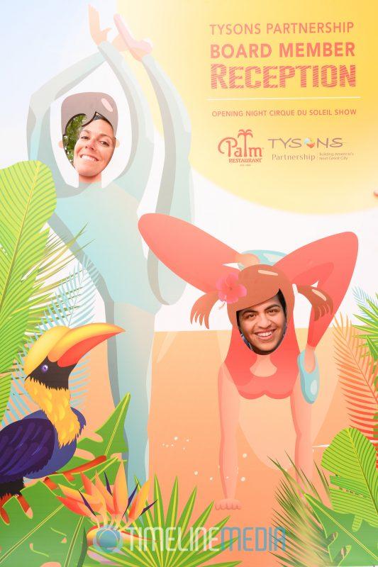 Cirque du Soleil dancers at a Tysons Partnership event ©TimeLine Media