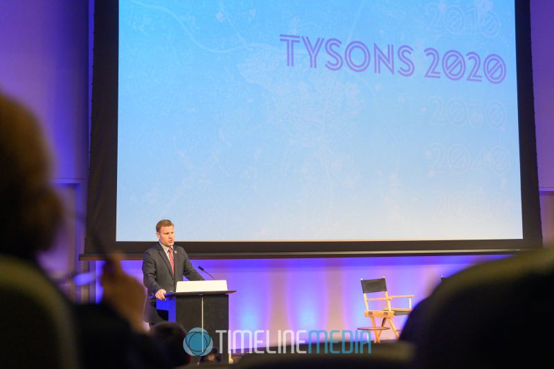 Fairfax Chairman Jeff McKay at the Tysons Partnership Annual Report release event ©TimeLine Media