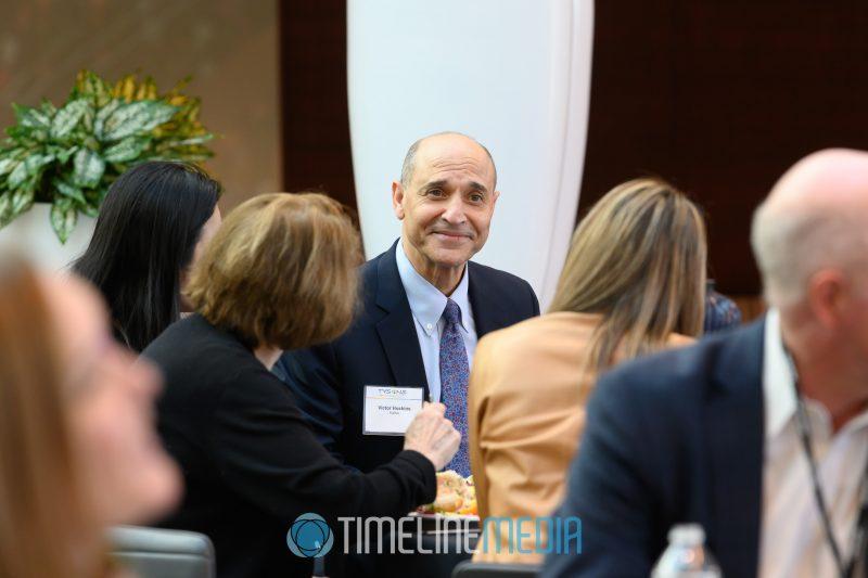 Victor Hoskins FCEDA President at Capital One HQ ©TimeLine Media
