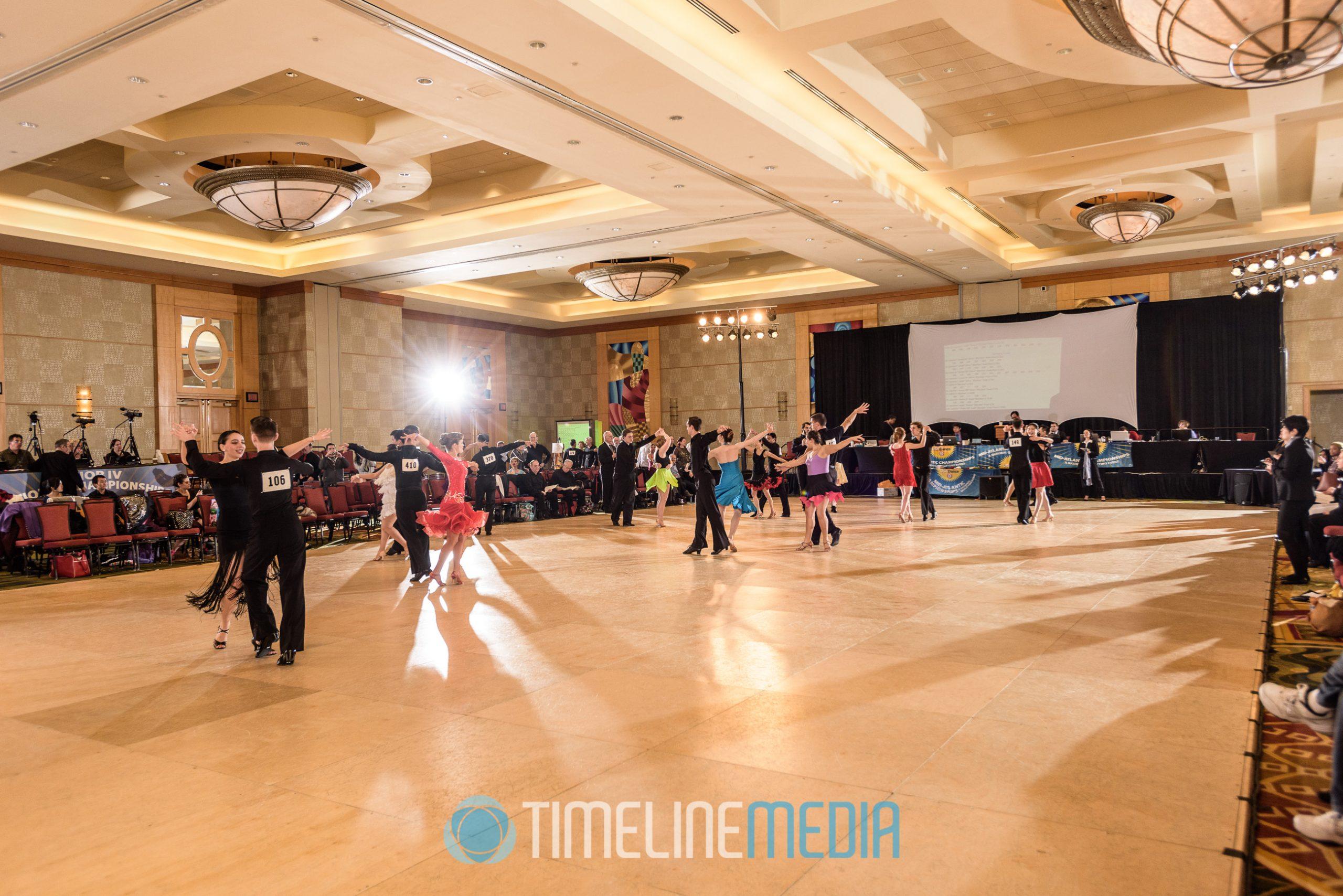 Bethesda North Marriott Hotel ballroom dance floor ©TimeLine Media