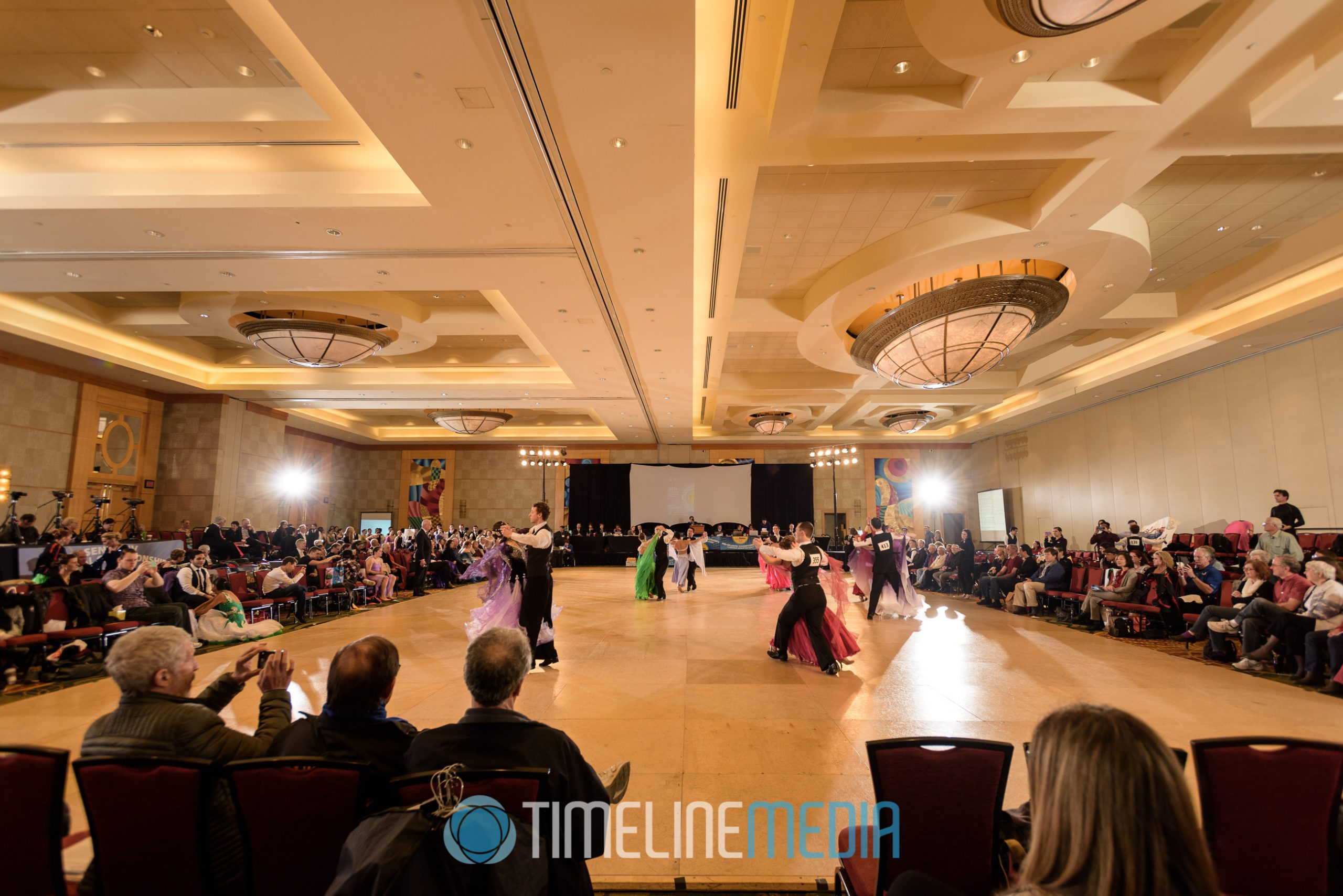 Mid-Atlantic Championships competition floor ©TimeLine Media