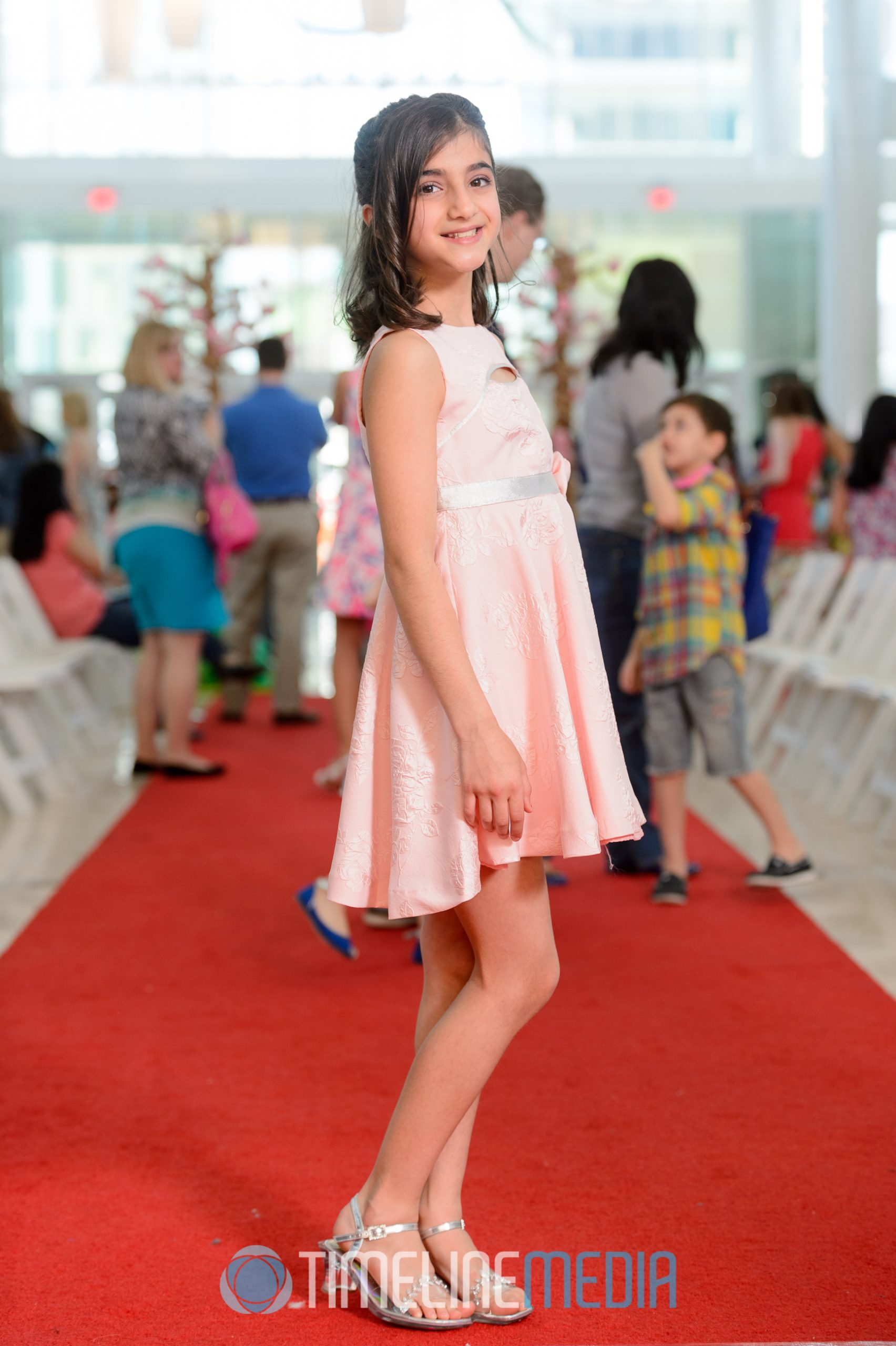 Runway photo after show ©TimeLine Media Cherry Blossom Fashion