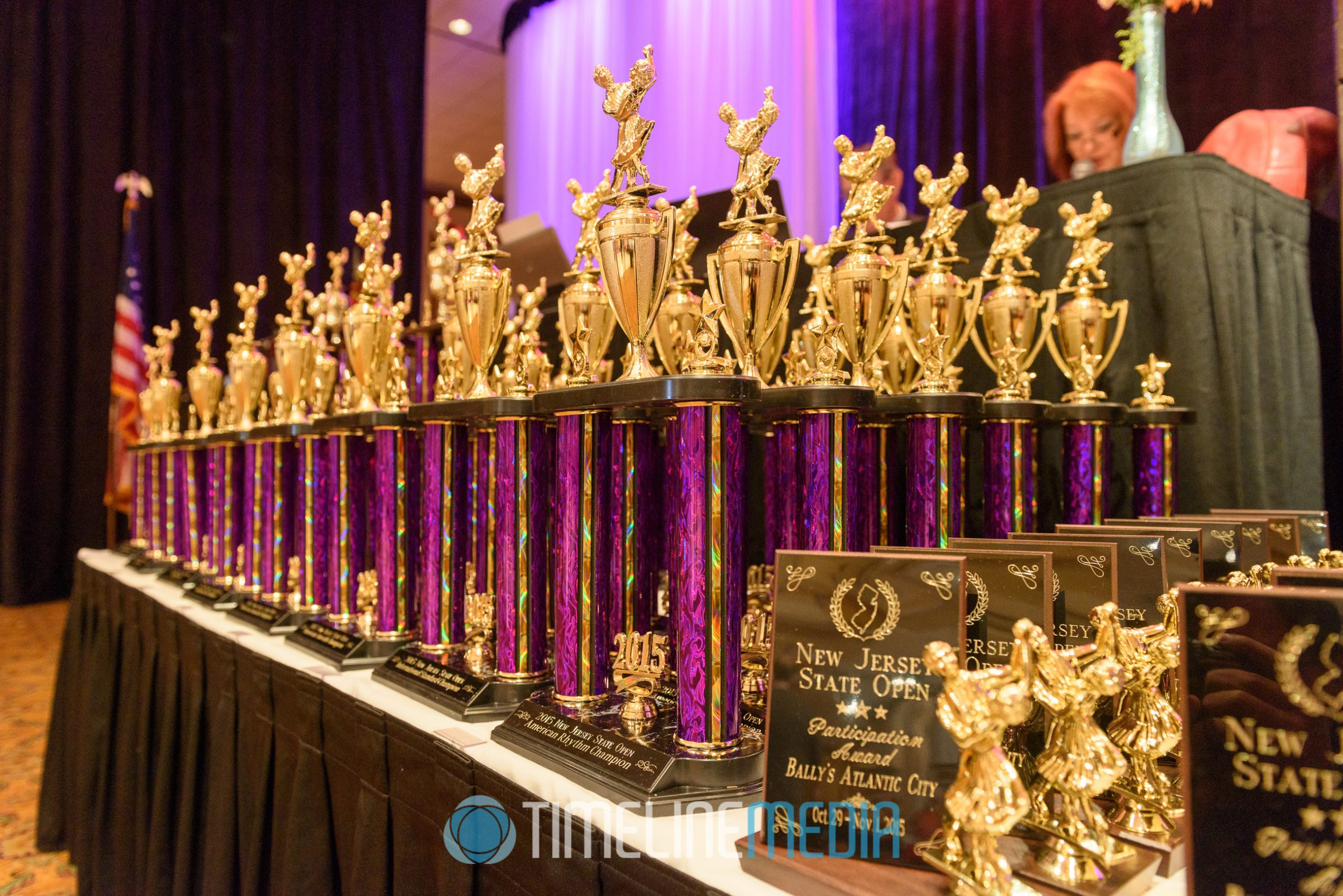 Trophies New Jersey State Open ©TimeLine Media