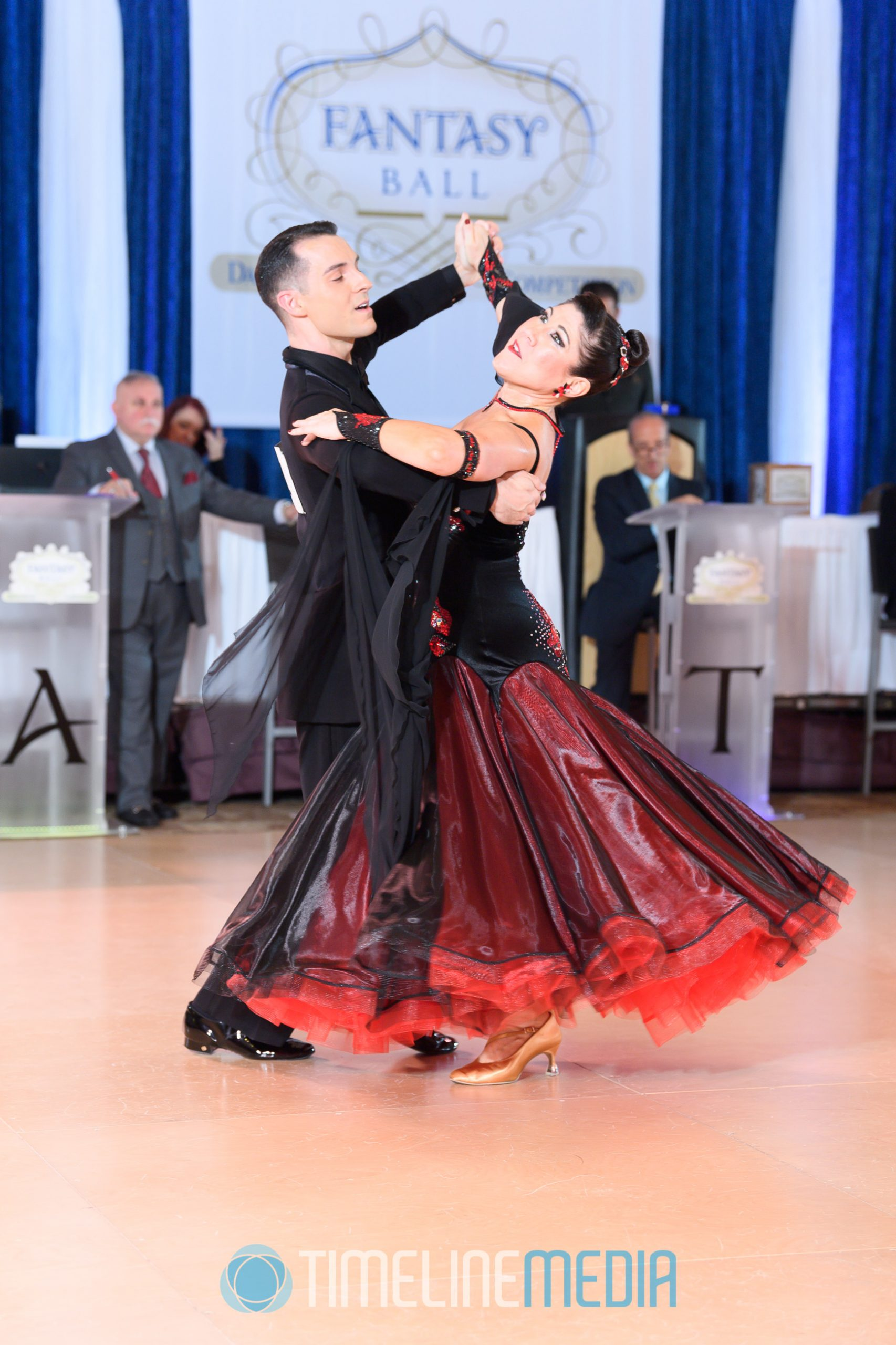 Standard dancers at the 2019 Fantasy Ball Dancesport Competition ©TimeLine Media