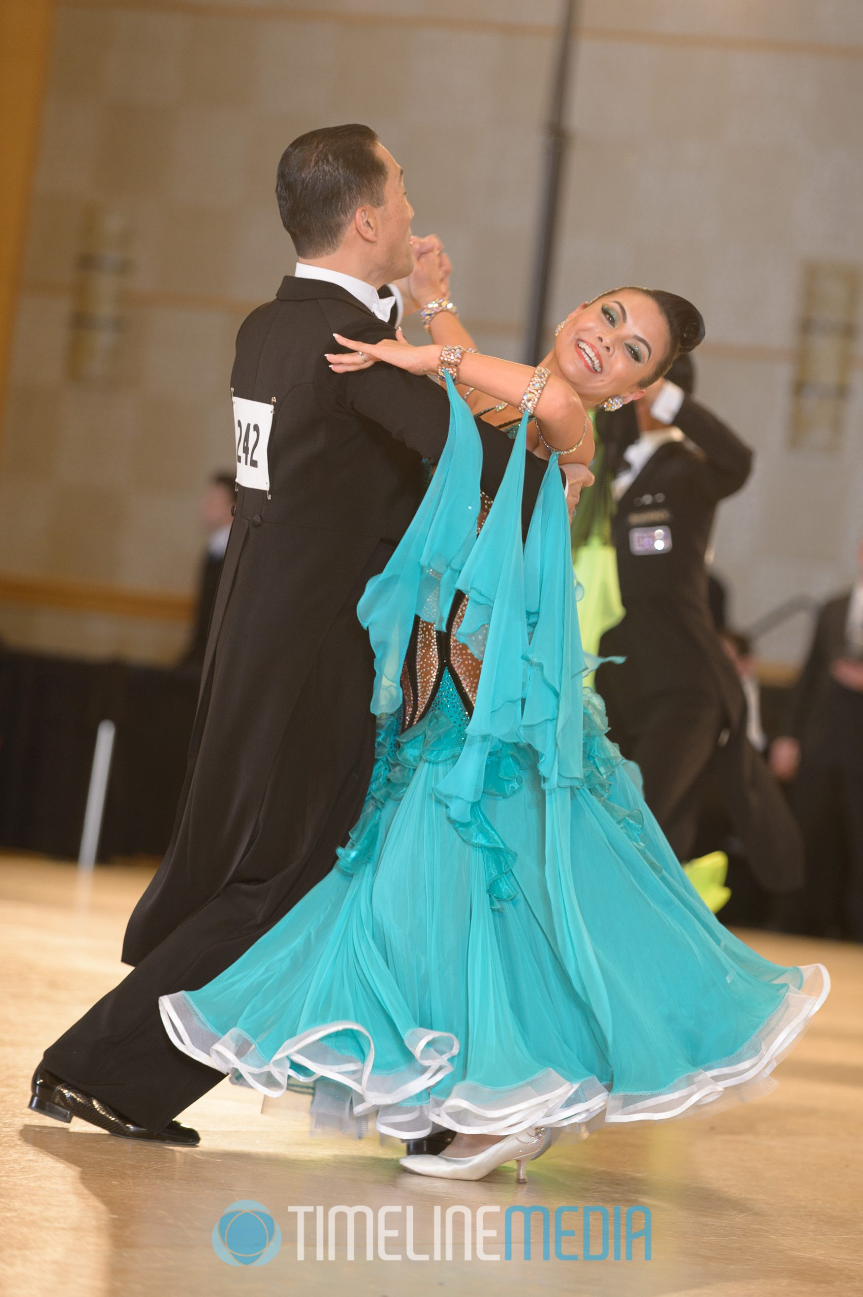 Dancing competing at the Mid-Atlantic Championships ©TimeLine Media