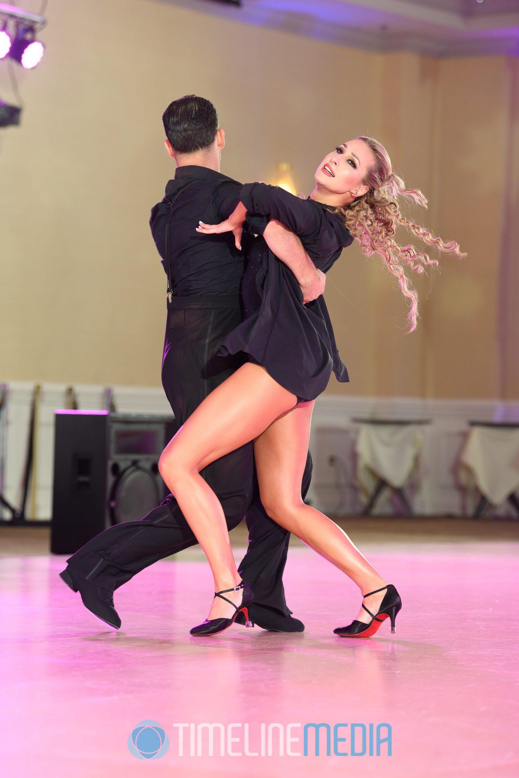 Max Sinitsa and Tatiana Seliverstova performing a professional dance show ©TimeLine Media