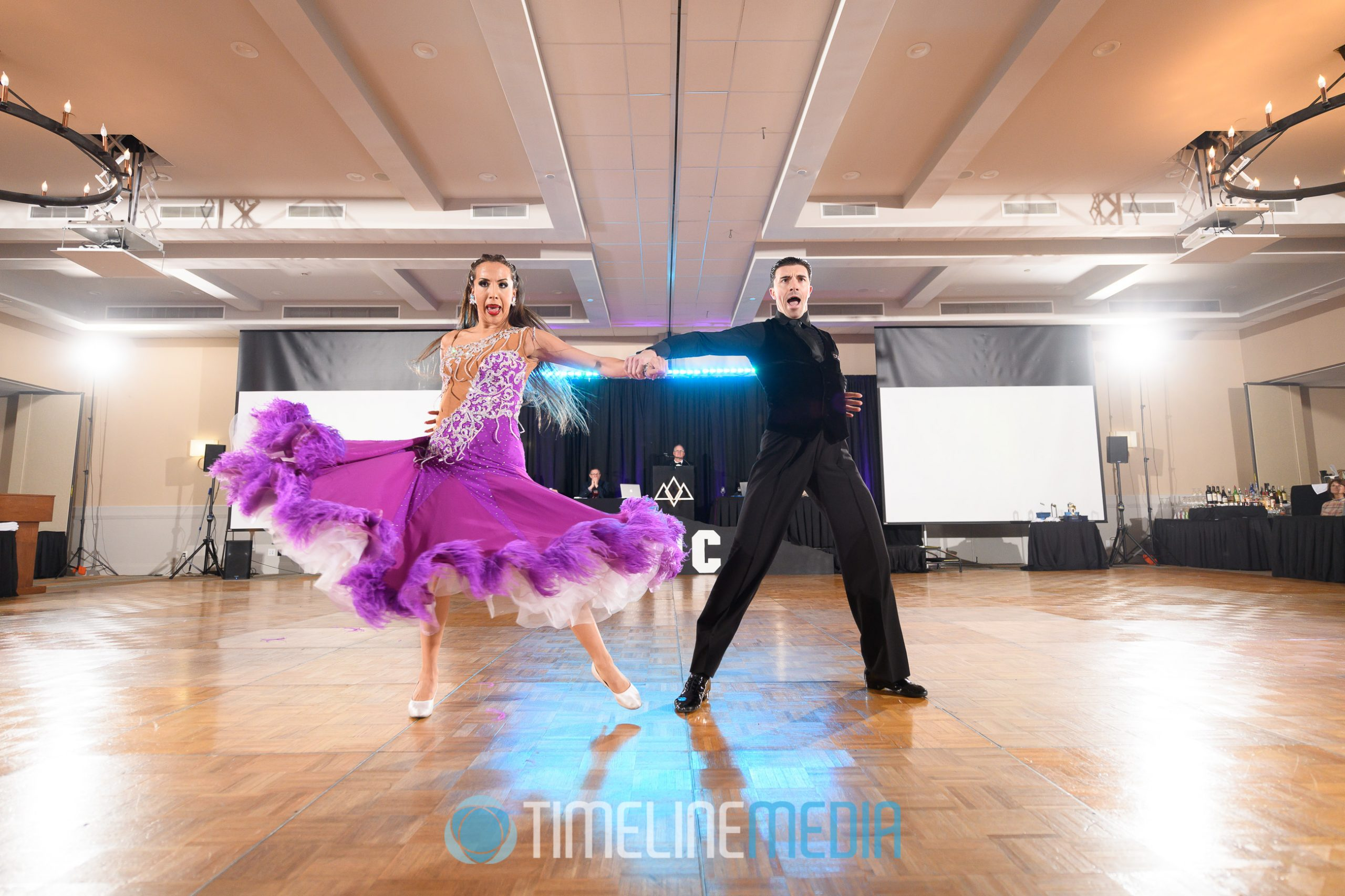 Gabriela Sevillano and Dmitry Solomakha Professional Show ©TimeLine Media
