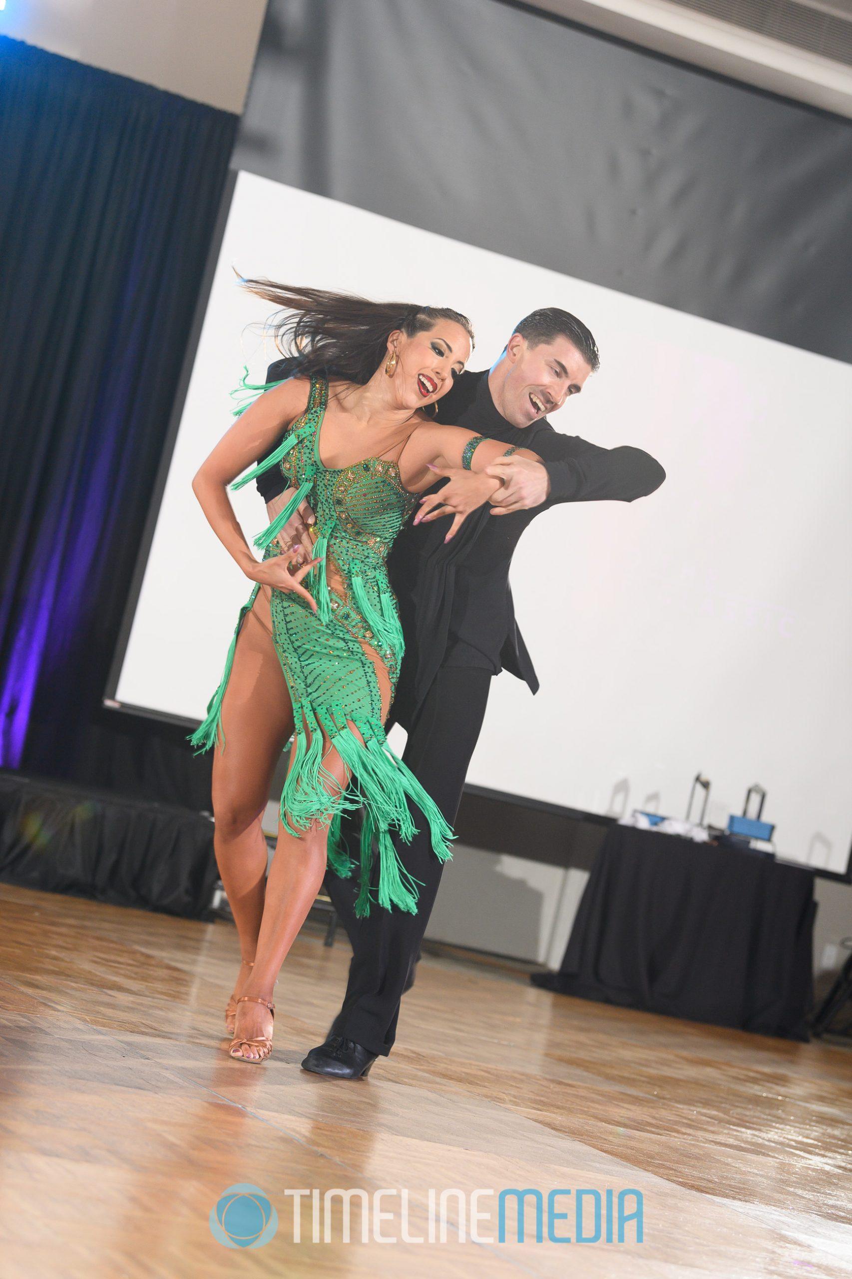 Gabriela Sevillano and Dmitry Solomakha Professional Show ©TimeLine Media