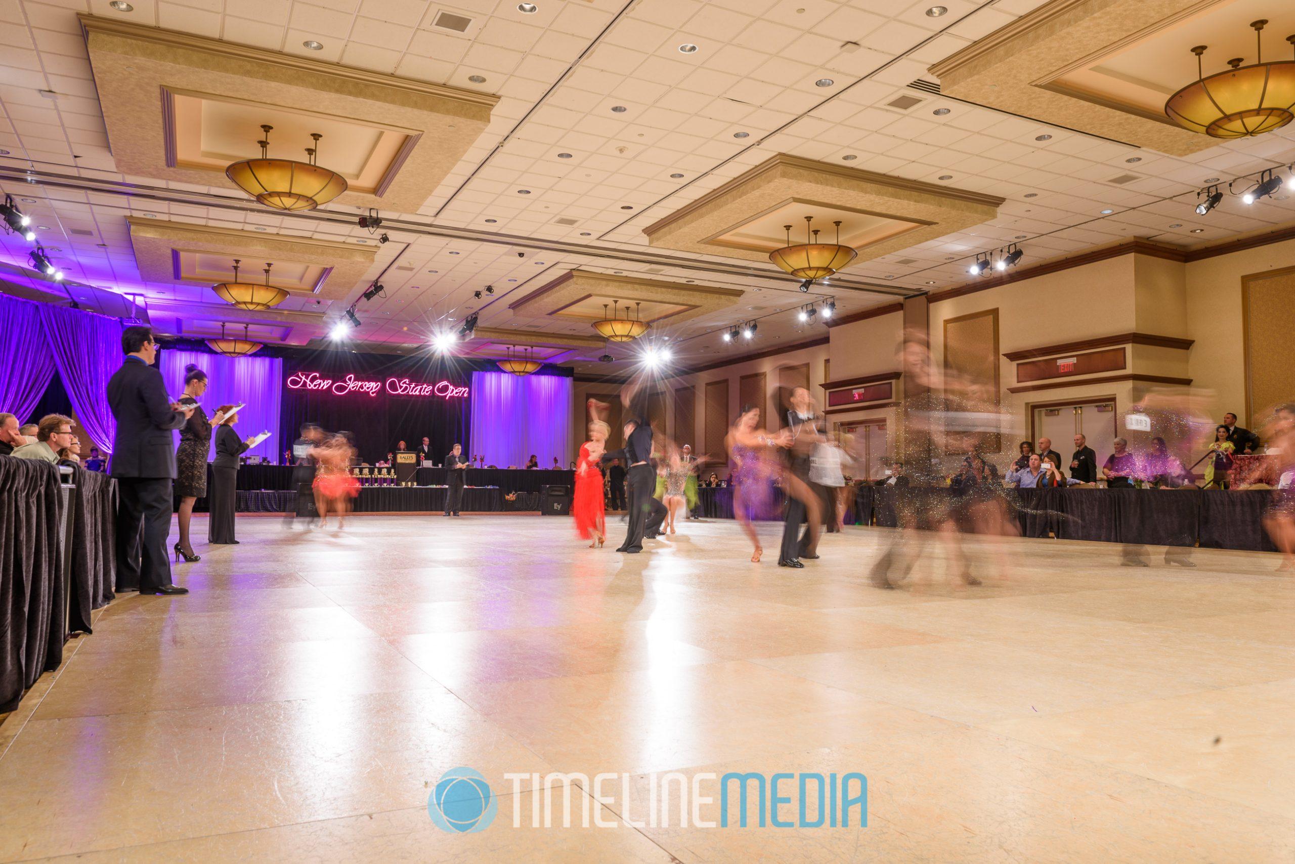 Competition dance floor Bally's Atlantic City ©TimeLine Media