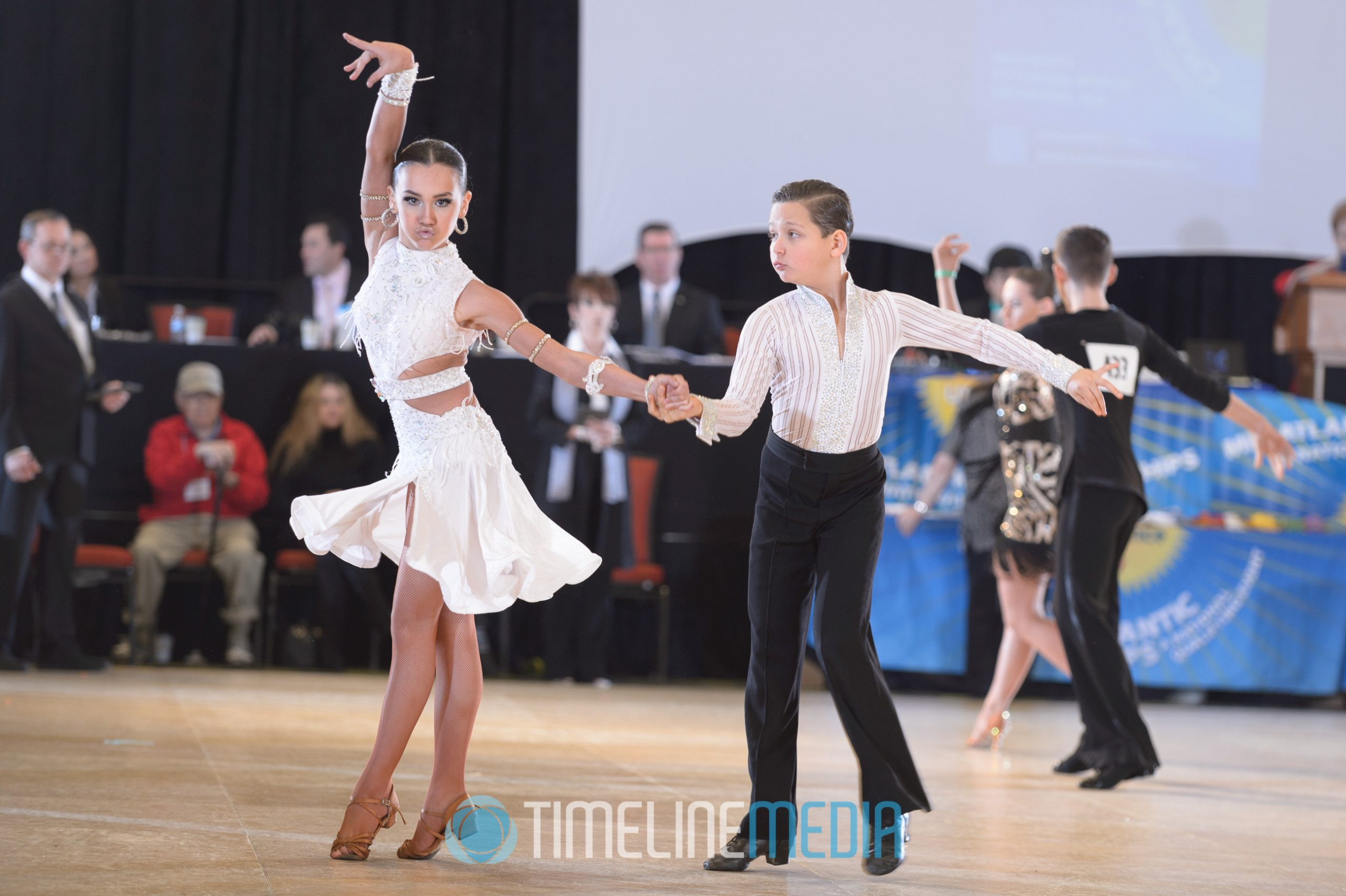 Youth dancers at the Mid-Atlantic Championships ©TimeLine Media