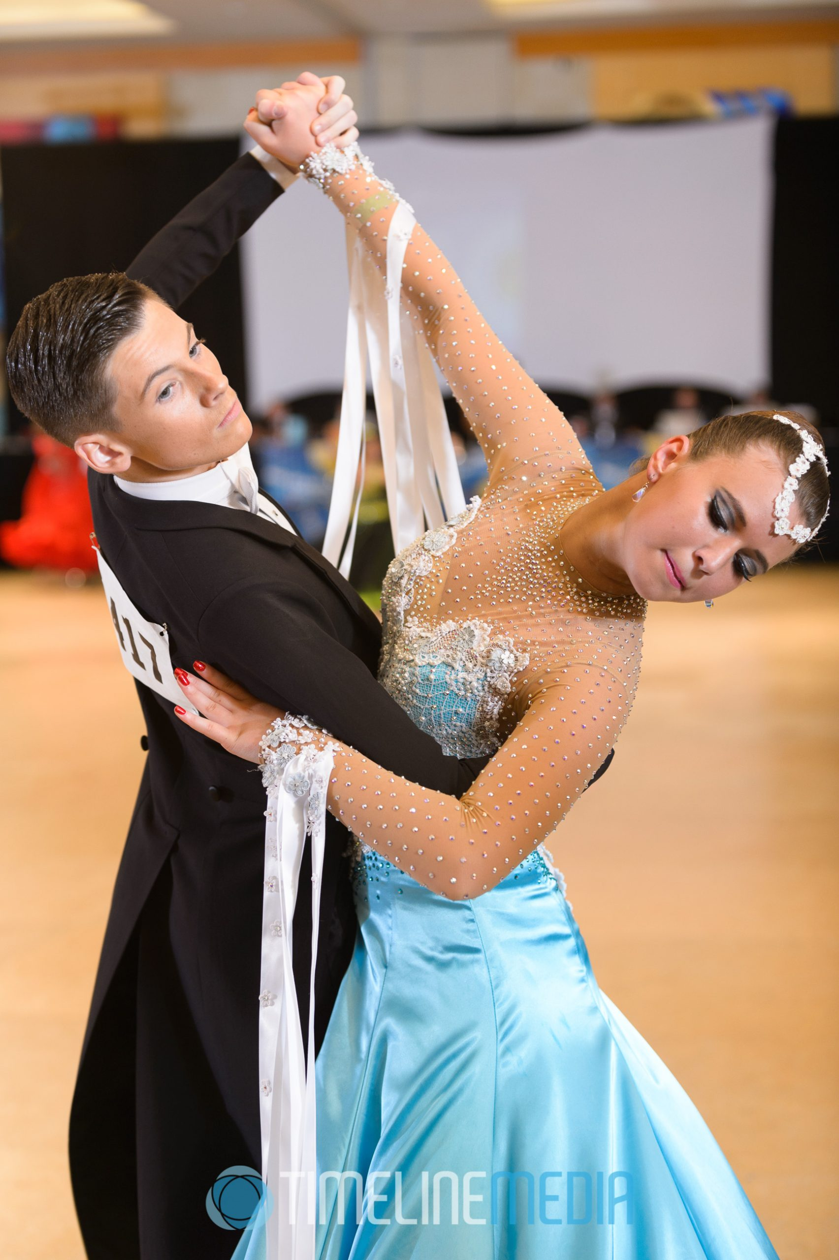 Youth ballroom dancers USA Dance ©TimeLine Media