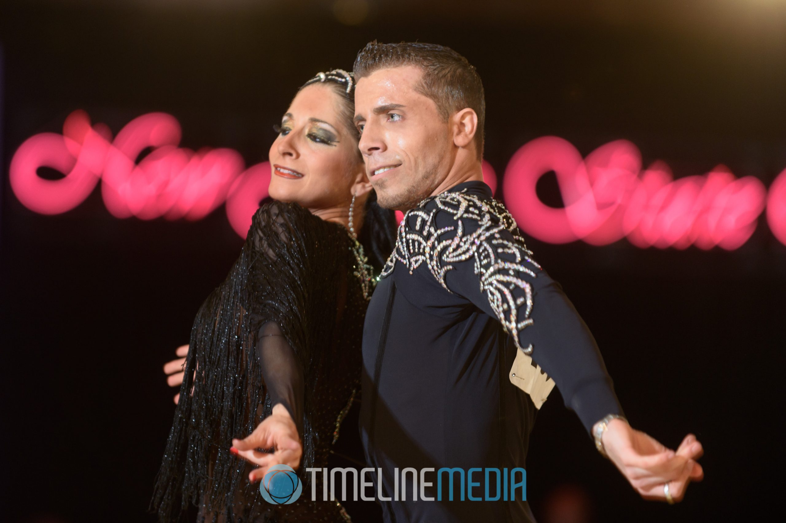Professional Latin dancers at the New Jersey State Open in Bally's Atlantic City, NJ ©TimeLine Media