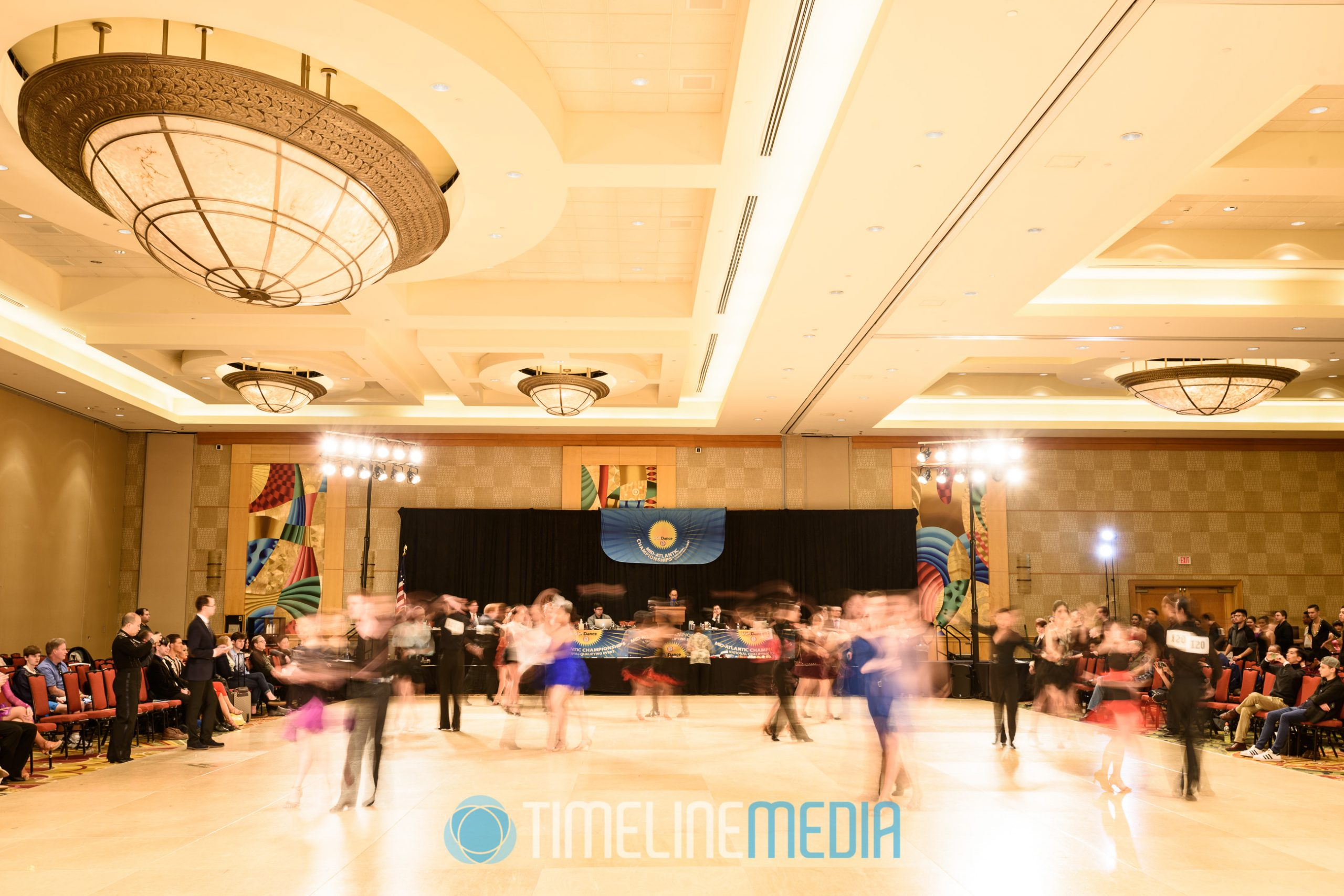 2017 USA Dance Mid-Atlantic Championships - dancesport competition Maryland ©TimeLine Media