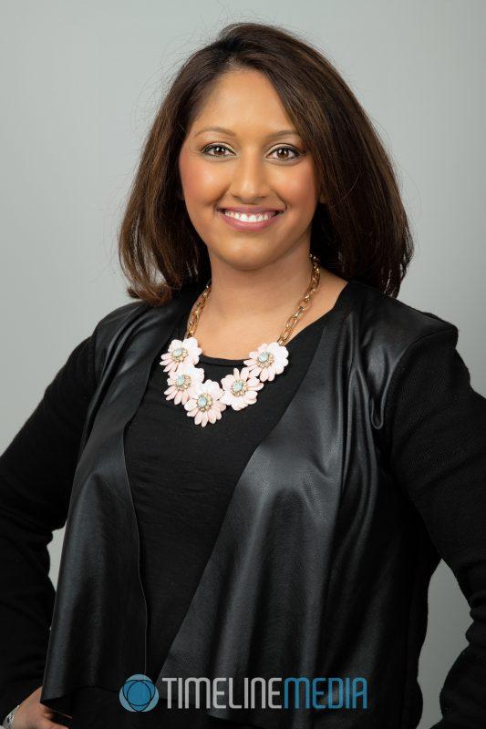 Professional female portrait headshot ©TimeLine Media