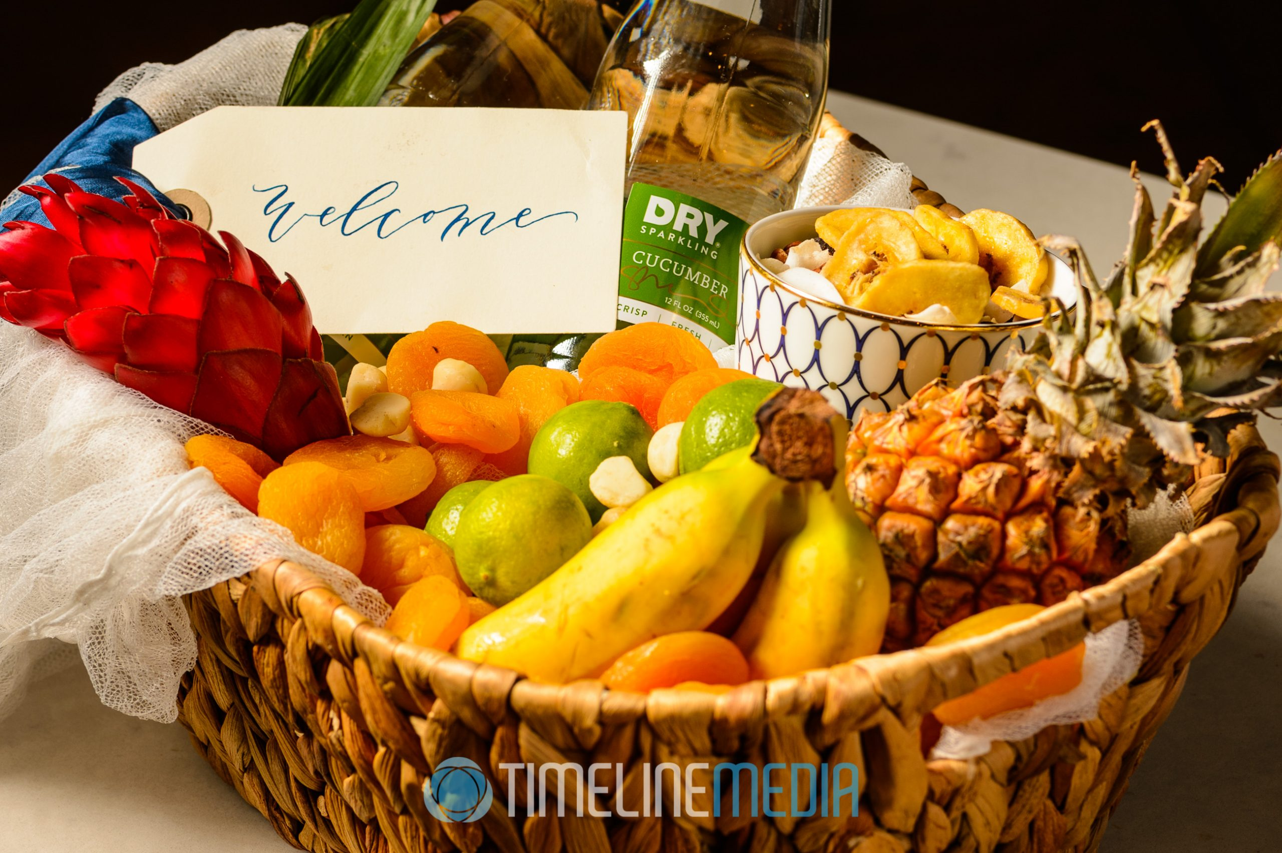 Gift Basket - Andrew Roby Events style shoot ©TimeLine Media