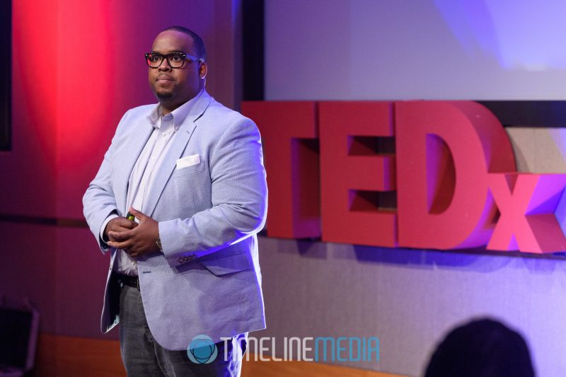 Kerel Fryar speaking at TEDxTysons ©TimeLine Media