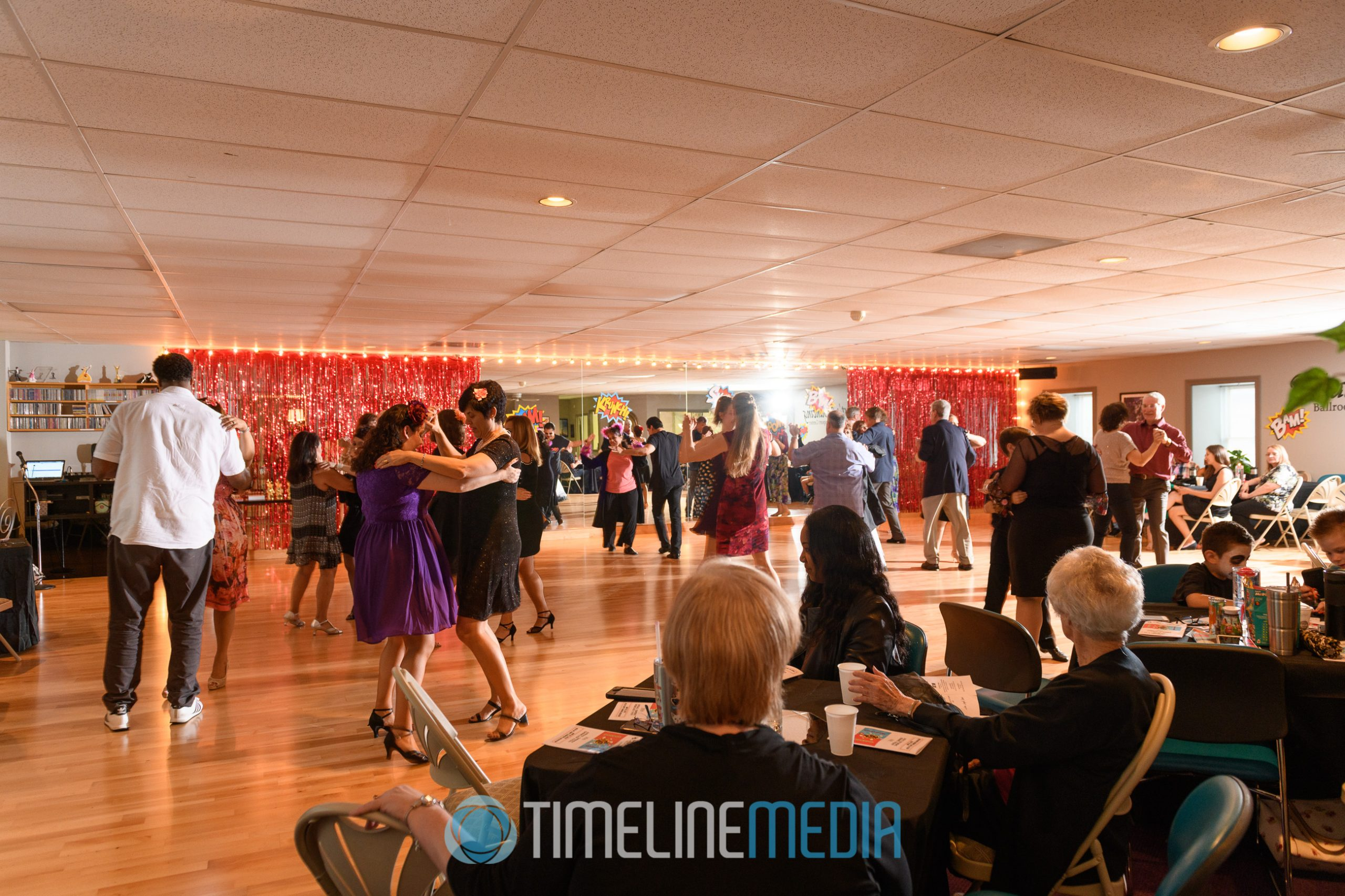 Social Dancing at That's Dancing studio in Jessup, MD ©TimeLine Media