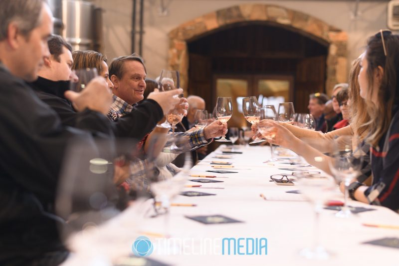 2020 Tysons Chamber Board of Directors visiting Stone Tower Winery in Leesburg ©TimeLine Media