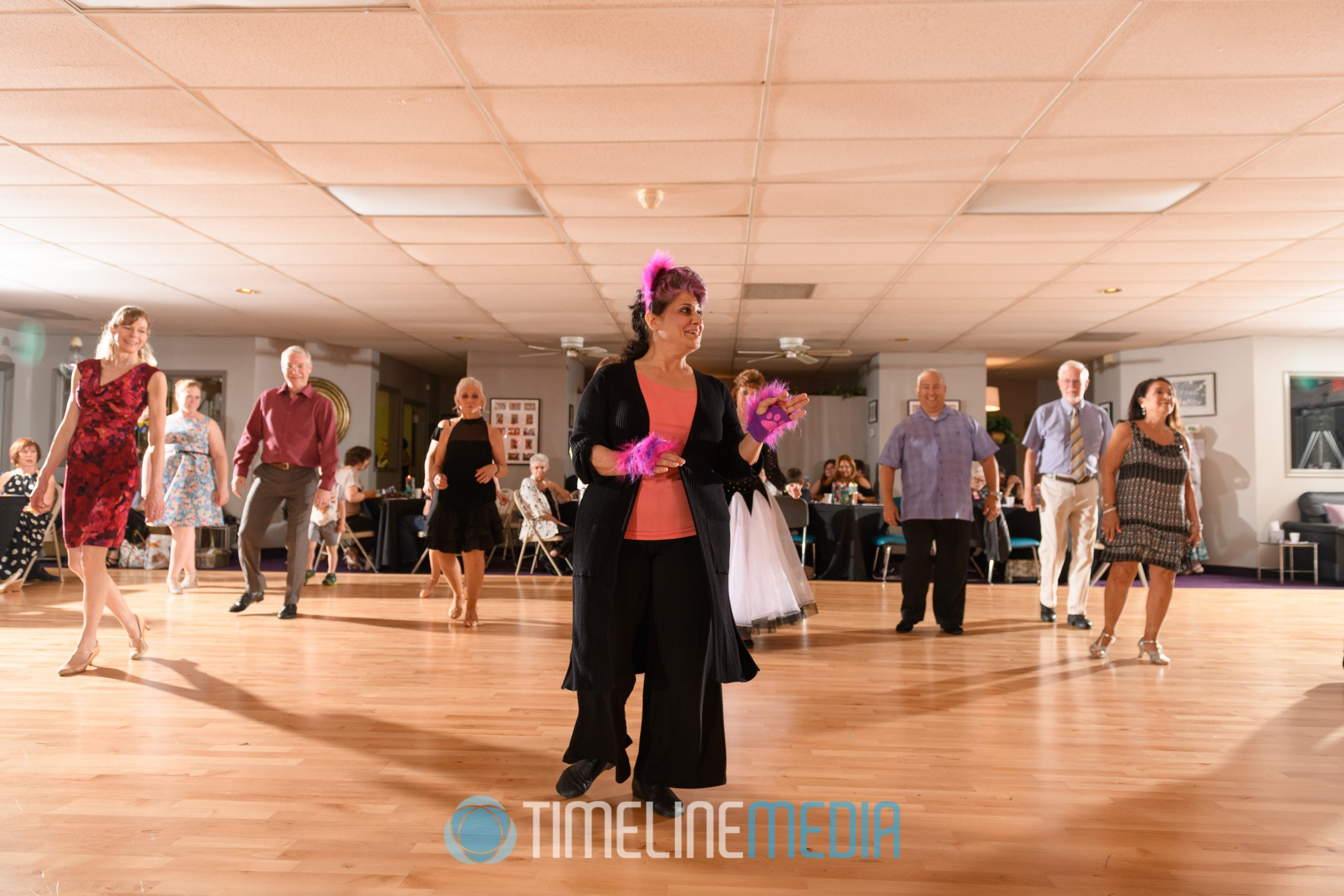 Line Dancing at That's Dancing studio in Jessup, MD ©TimeLine Media