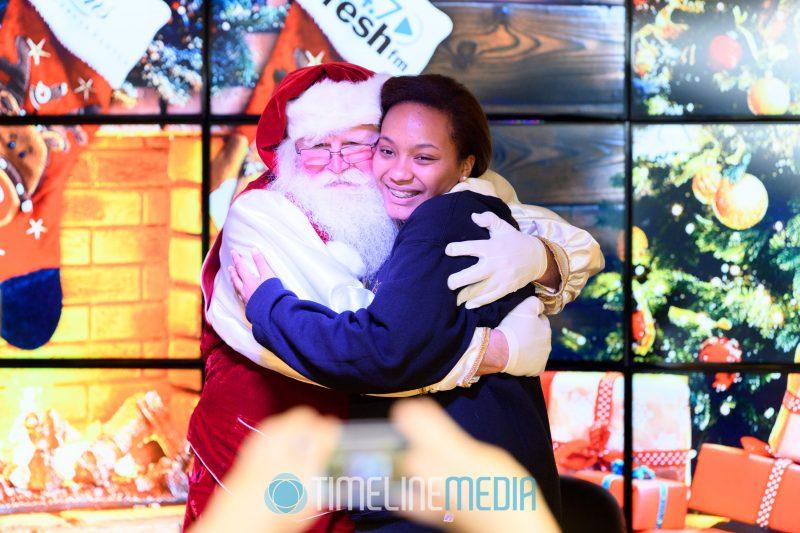 2017 Radio Santa visit to 94.7 Fresh FM in Washington, DC