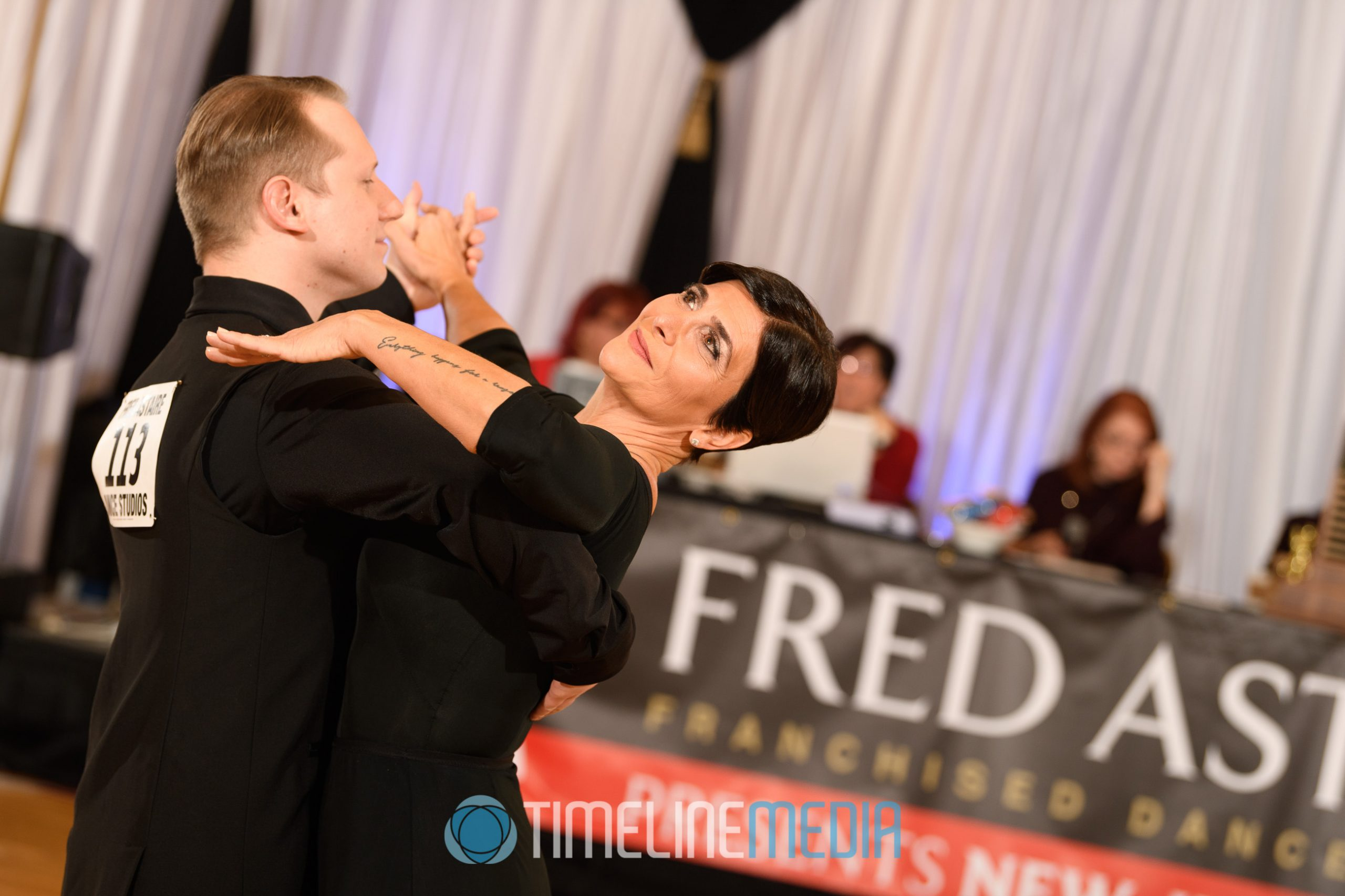 Dancers competing at the NJ Fred Astaire Team Match ©TimeLine Media