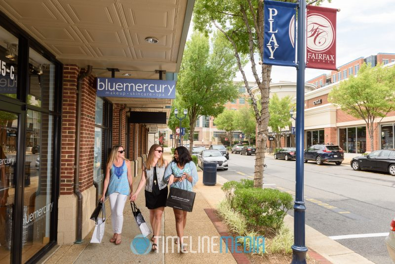 Sip and Shop now available at Fairfax Corner ©TimeLine Media