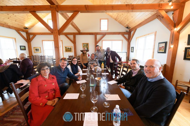 2020 Tysons Chamber Board of Directors visiting Leesburg wineries ©TimeLine Media