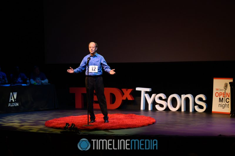 Contestants pitch their TEDx talks to the audience at the Alden Theatre ©TimeLine Media