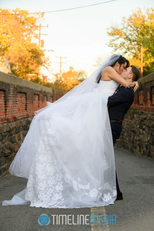 Frances and Carlo at the Wilkes Street tunnel in Alexandria, VA ©TimeLine Media