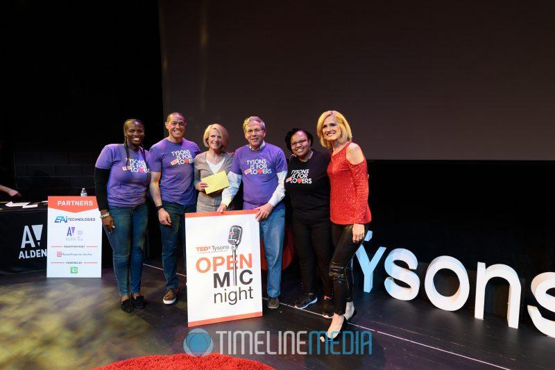 Susan McCorkindale - winner of the Open Mic Night golden ticket ©TimeLine Media