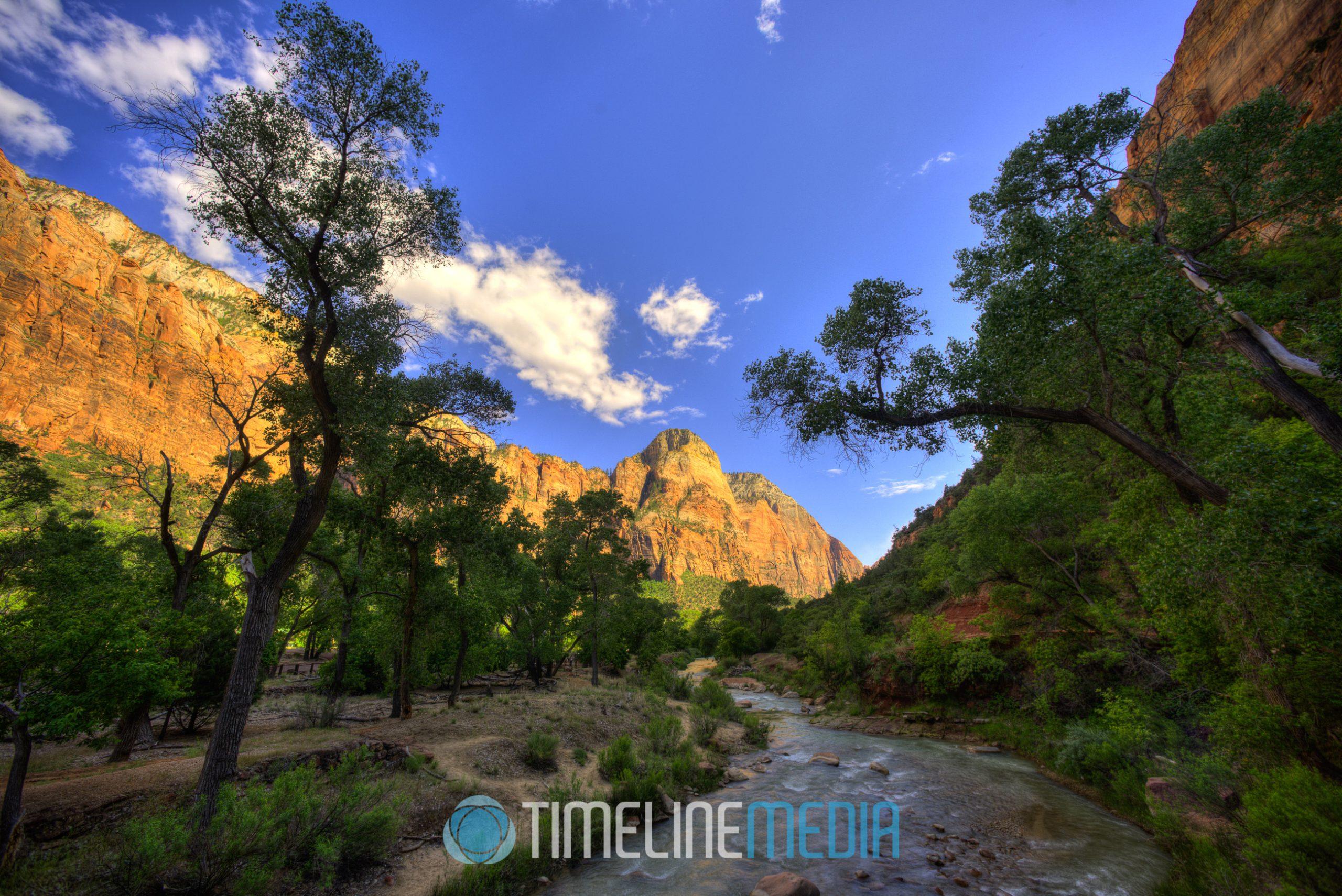 Virgin River through the valley ©TimeLine Media