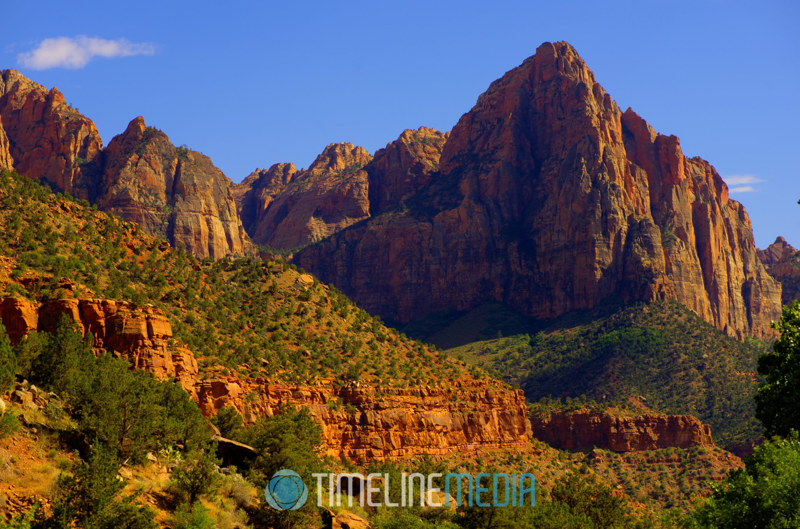 The Watchman at Zion National Park ©TimeLine Media