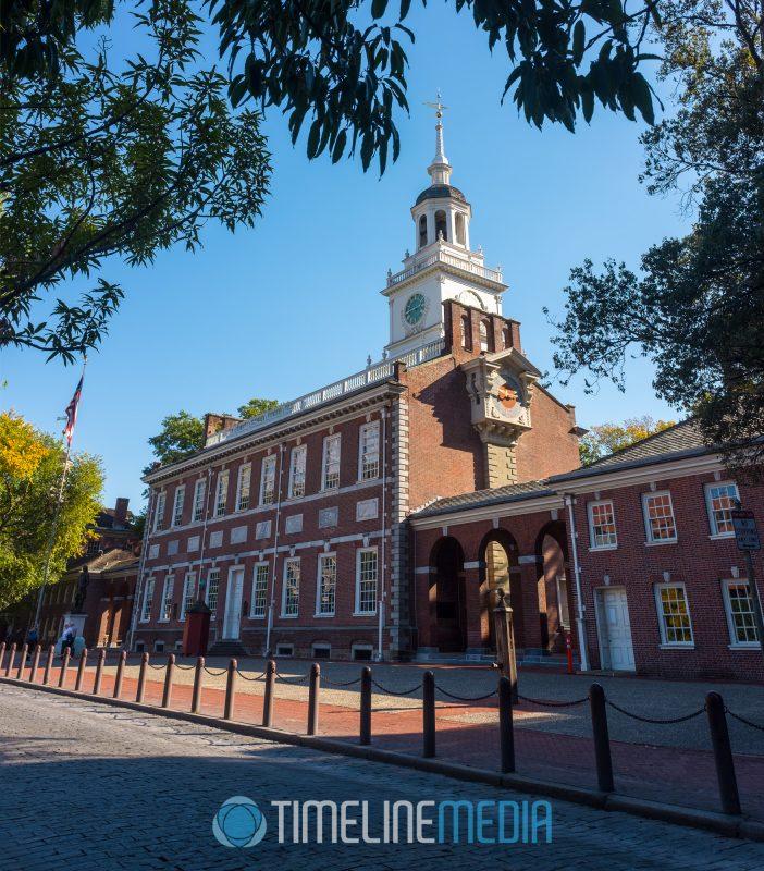 Independence Hall panorama ©TimeLine Media