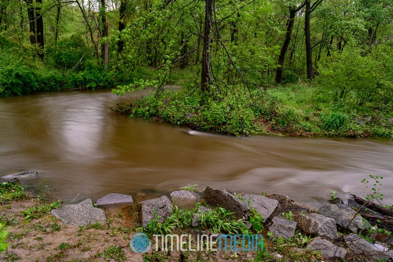 Water Long Exposure of Holmes Run Creek ©TimeLine Media