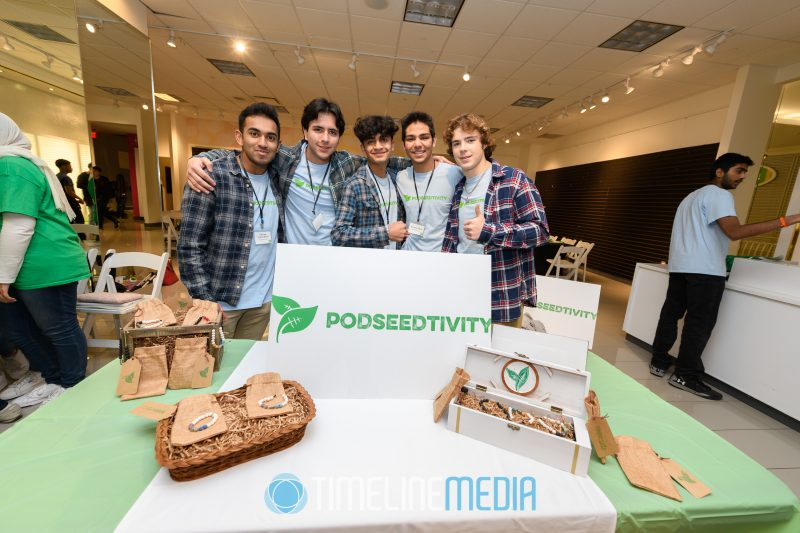 Podseedtivity team at the Junior Achievement event at Tysons Corner Center