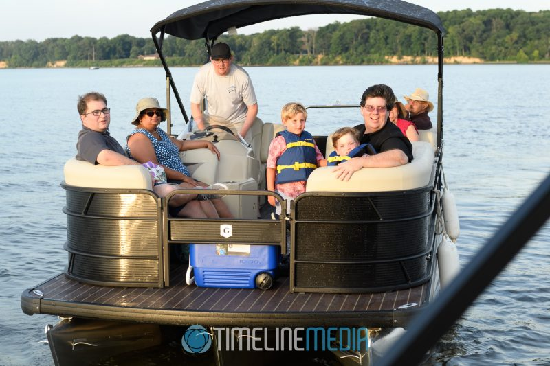 Boating on the Potomac River with guests of Freedom Boat Club in Woodbridge, VA ©TimeLine Media