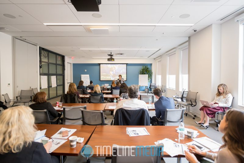 Conference room for a business coaching session with Laurie Richards ©TimeLine Media