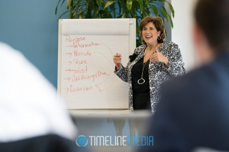 Photographing Laurie as she teaches a business coaching session in Washington, DC ©TimeLine Media