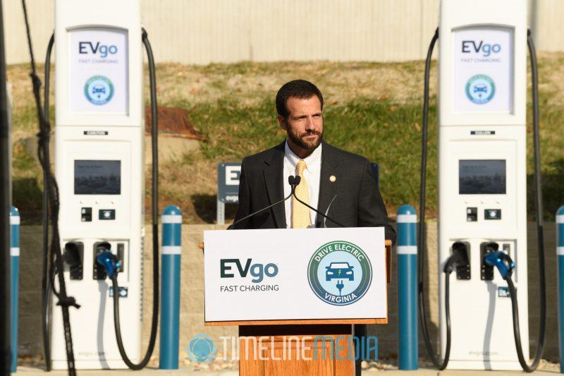 Matthew J. Strickler, Secretary of Natural Resources in Virginia speaking in Tysons ©TimeLine Media