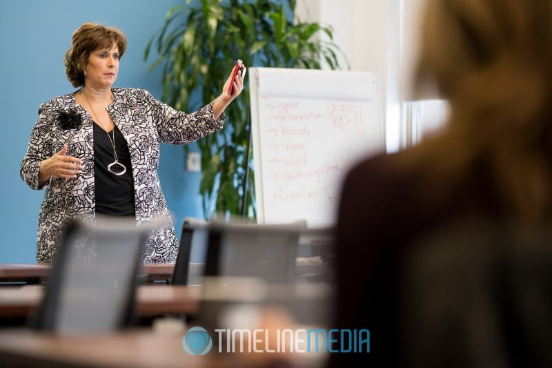 On site shoot with a business coaching session ©TimeLine Media