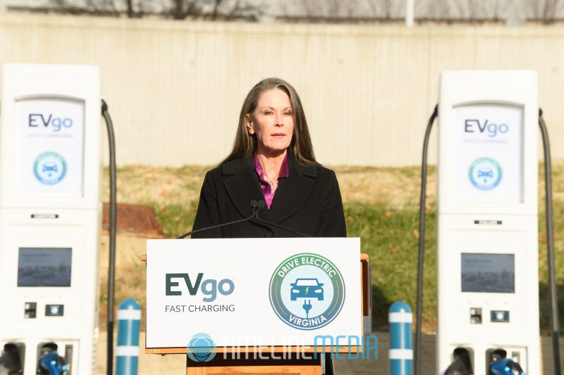 Deirdre M. Johnson of Federal Realty Trust speaking in Tysons ©TimeLine Media
