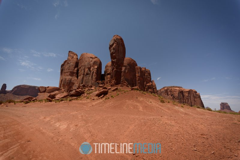 Thumb Butte along the Navajo trail ©TimeLine Media