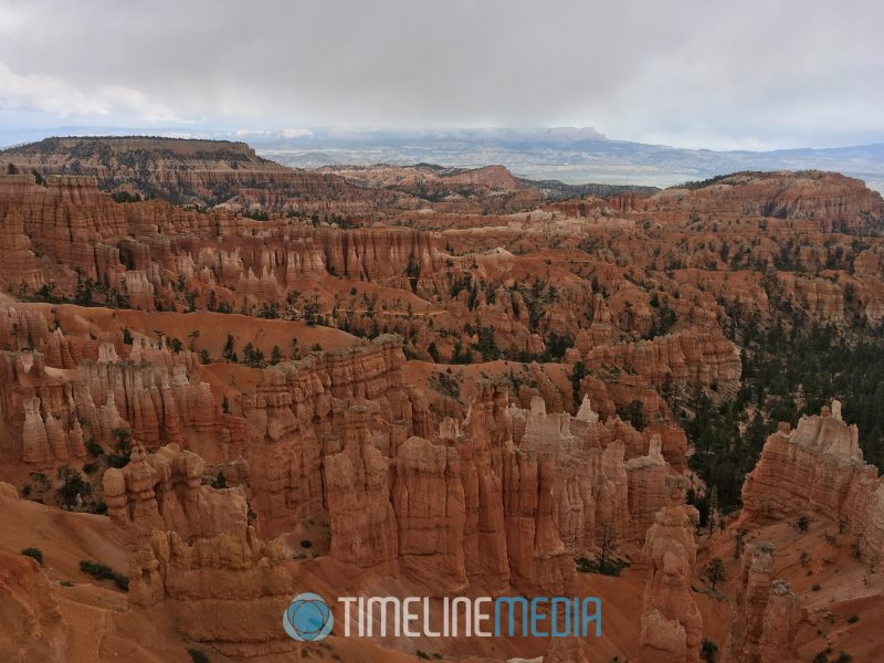 View from Inspiration Point at the top of Bryce Canyon National Park ©TimeLine Media