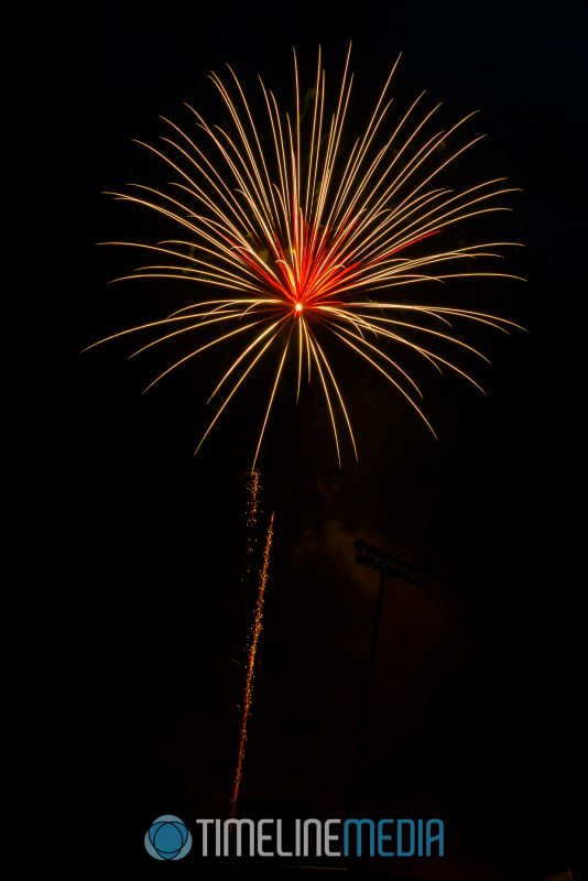 Fireworks show in Falls Church, Virginia ©TimeLine Media