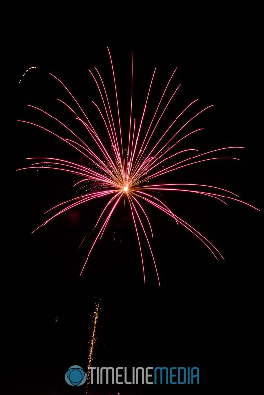 Fireworks photo tips from a previous year's July 4 show ©TimeLine Media