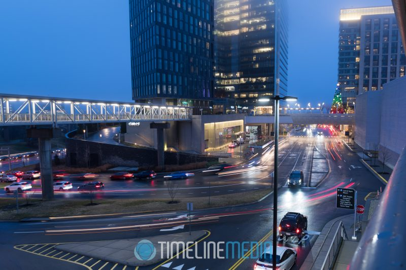 Traffic in and out of Tysons Corner Center ©TimeLine Media