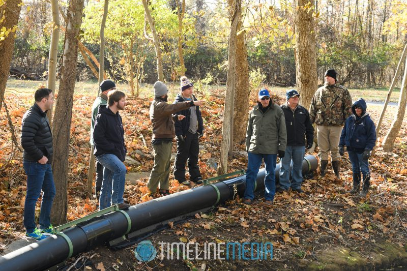 Colonial Pipeline River Cleanup group in College Park, MD ©TimeLine Media